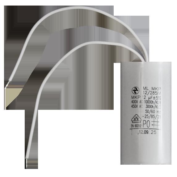 12 µF motor capacitor Hydra (AEG) - kondensatoren-shop.de