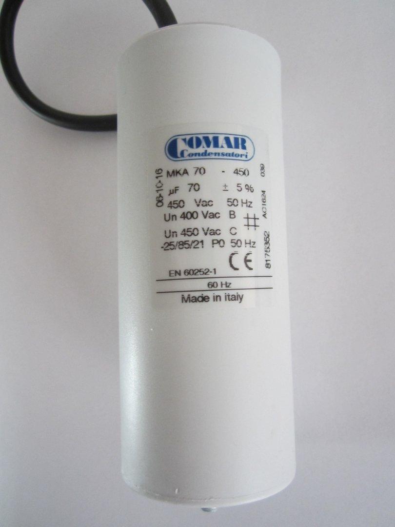 Comar Kondensator 8 /μF